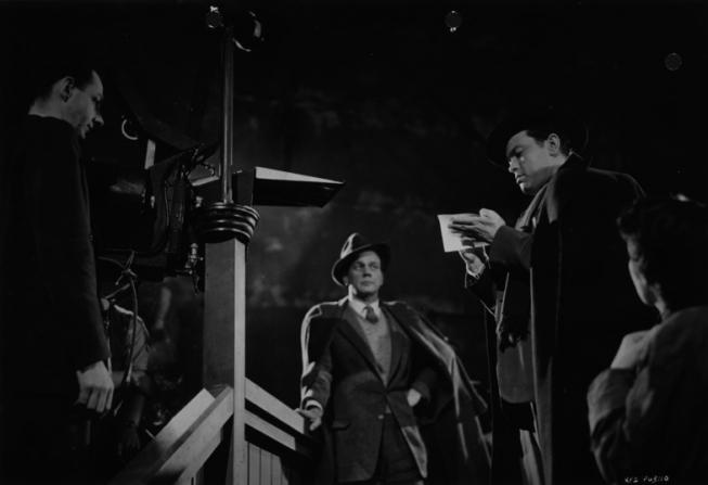 Joseph Cotten, Orson Welles, Guy Hamilton