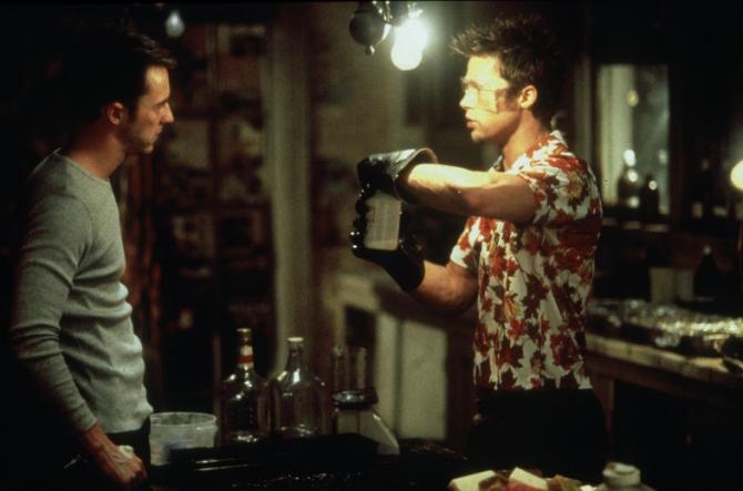Edward Norton, Brad Pitt