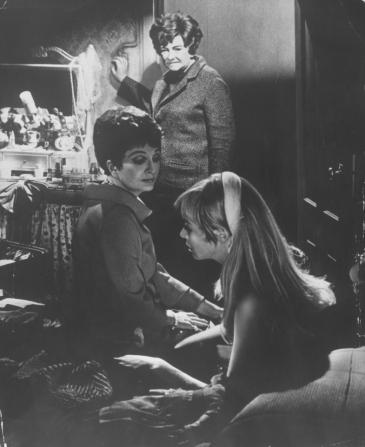 Coral Browne, Beryl Reid, Susannah York