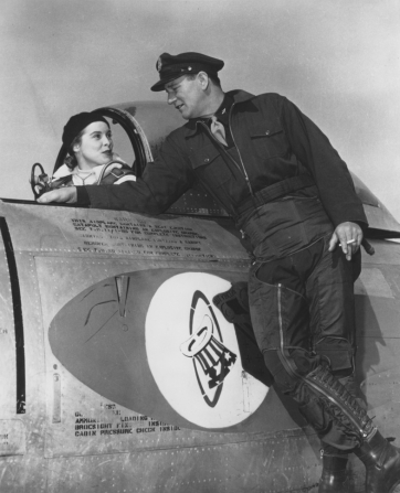 Janet Leigh, John Wayne