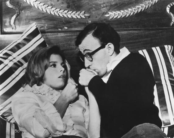 Romy Schneider, Woody Allen
