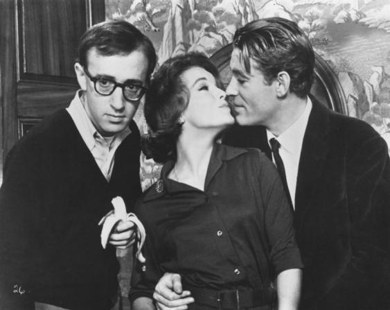 Woody Allen, Romy Schneider, Peter O'Toole