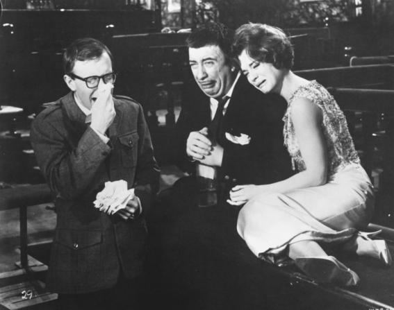 Woody Allen, Capucine