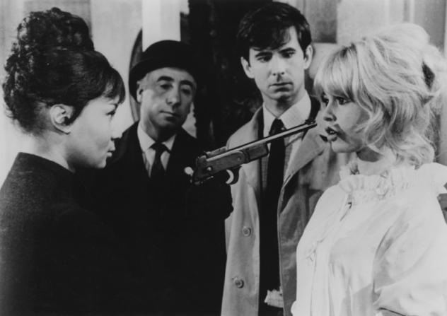 Anthony Perkins, Brigitte Bardot