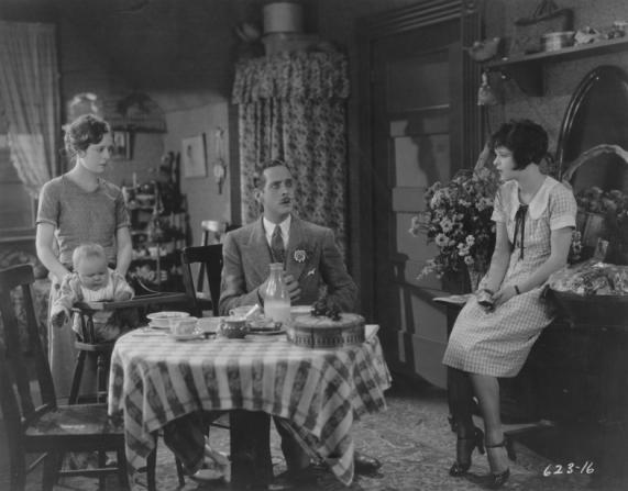 Priscilla Bonner, William Austin, Clara Bow