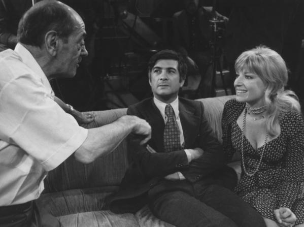 Luis Buñuel, Jean-Claude Brialy, Monica Vitti