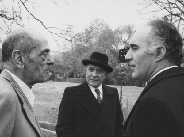 Luis Buñuel, Julien Bertheau, Michel Piccoli