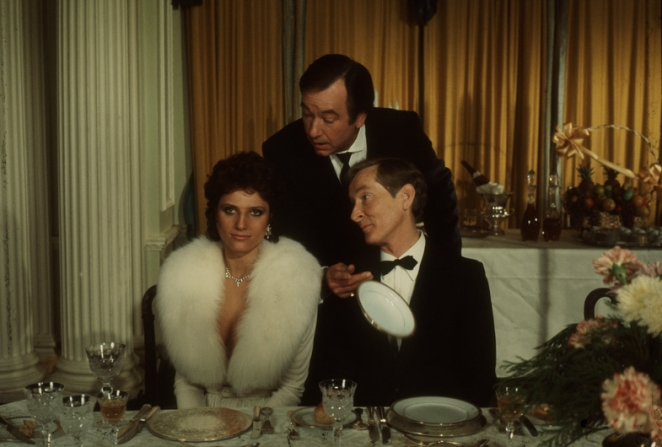 Suzanne Danielle, Kenneth Williams, Jack Douglas