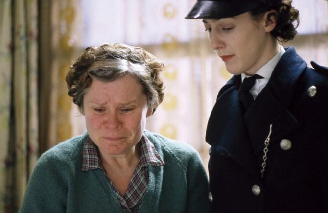 Imelda Staunton, Helen Coker