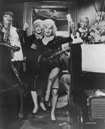 Tony Curtis, Jack Lemmon, Marilyn Monroe