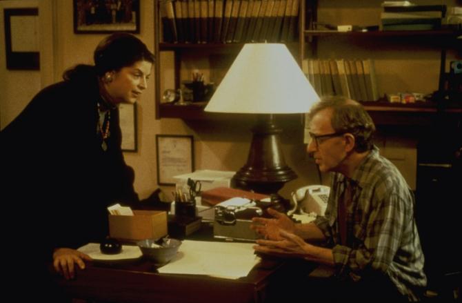 Kirstie Alley, Woody Allen
