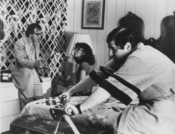 Woody Allen, Anne Desalvo, Jaqui Safra