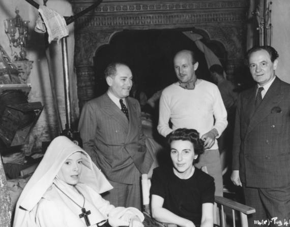Deborah Kerr, Emeric Pressburger, Rumer Godden, Michael Powell, Alfred Junge