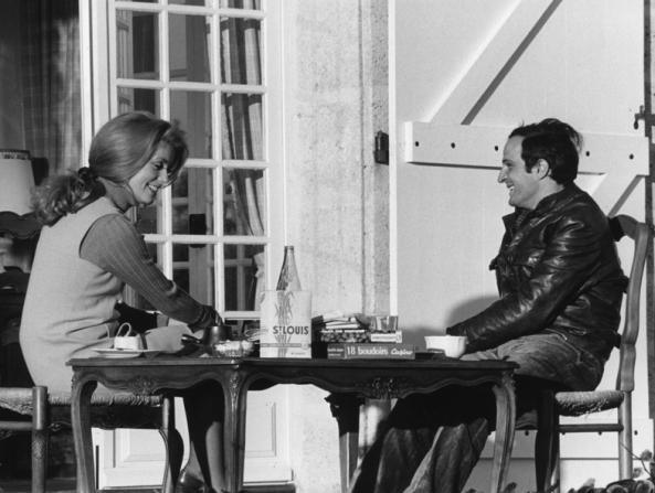Catherine Deneuve, François Truffaut