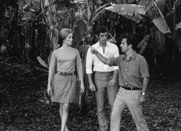 Catherine Deneuve, Jean-Paul Belmondo, François Truffaut
