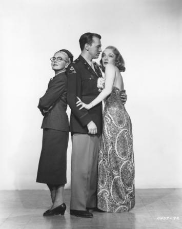 Jean Arthur, John Lund, Marlene Dietrich