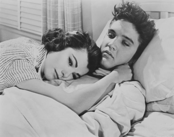 Judy Tyler, Elvis Presley