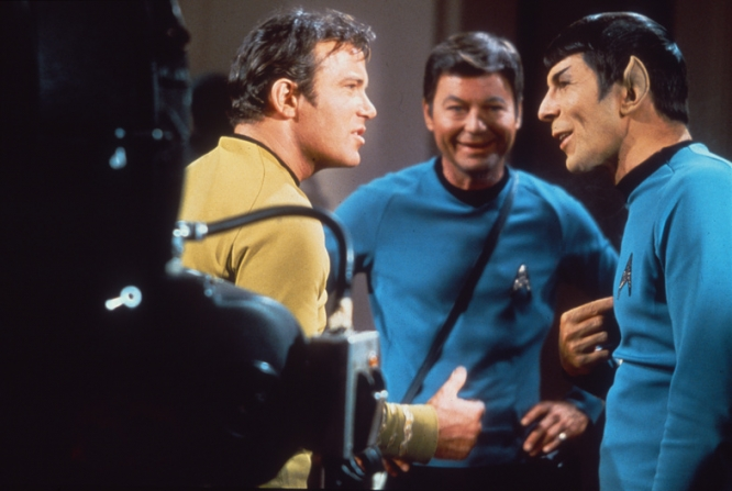 William Shatner, DeForest Kelley, Leonard Nimoy