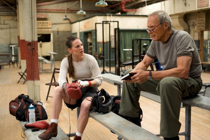Hilary Swank, Clint Eastwood