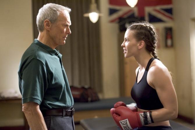 Clint Eastwood, Hilary Swank
