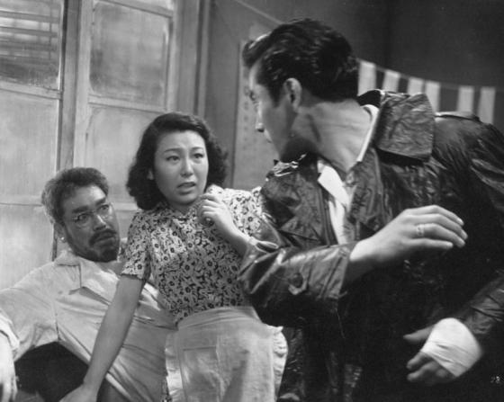 Takashi Shimura, Chieko Nakakita, Toshiro Mifune