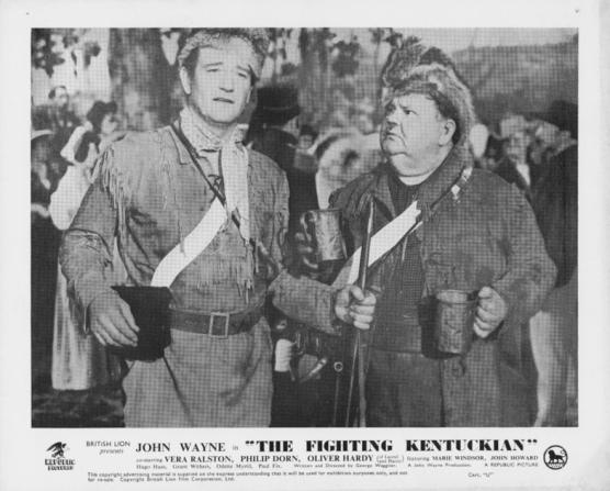 John Wayne, Oliver Hardy