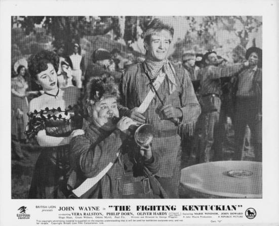Oliver Hardy, John Wayne