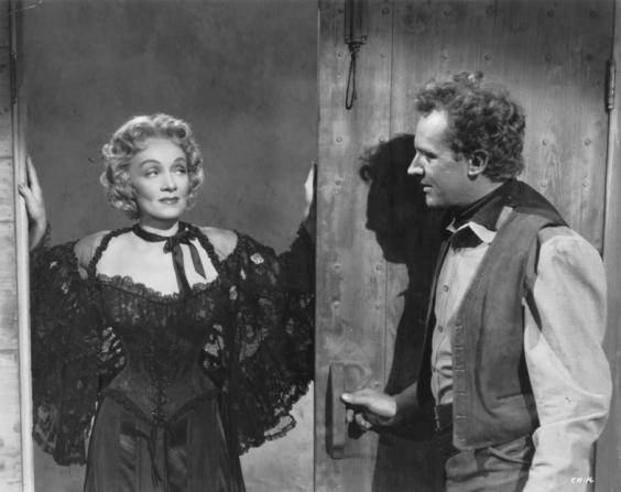 Marlene Dietrich, Arthur Kennedy