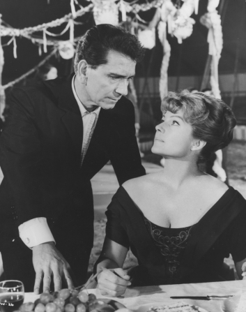 Richard Conte, Rita Hayworth
