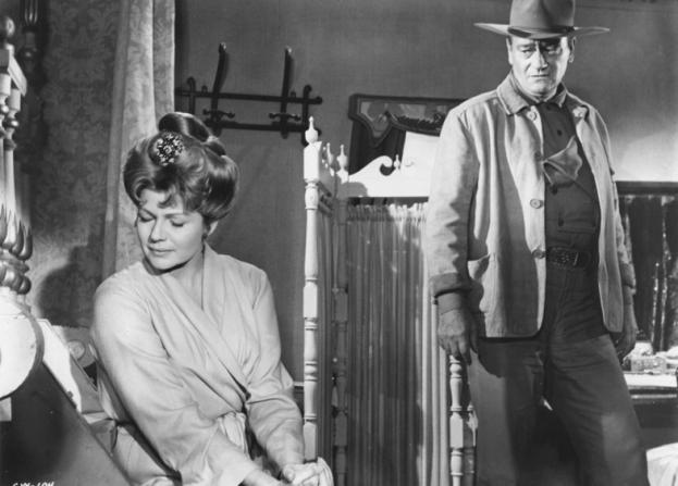 Rita Hayworth, John Wayne