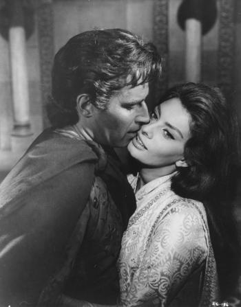 Charlton Heston, Sophia Loren