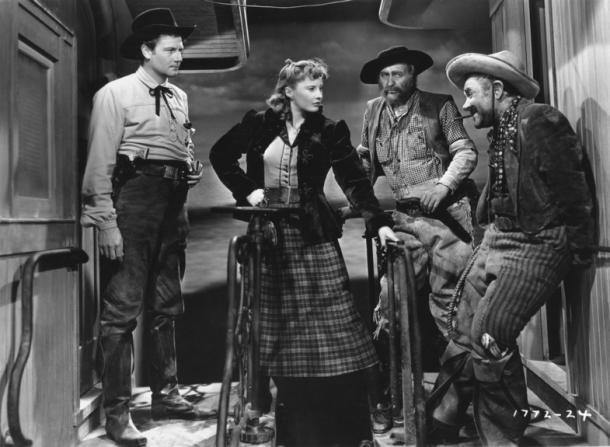 Joel McCrea, Barbara Stanwyck