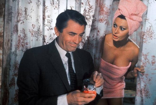 Gregory Peck, Sophia Loren