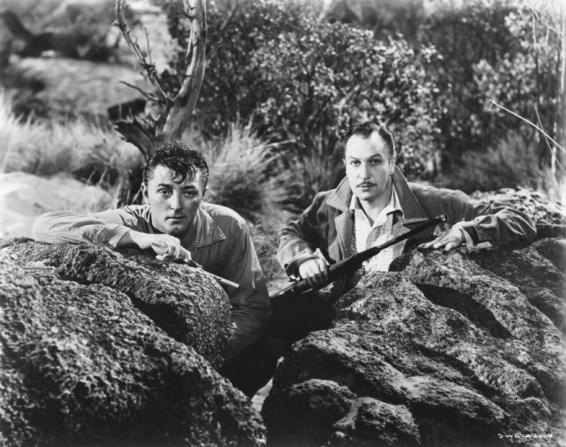 Vincent Price, Robert Mitchum