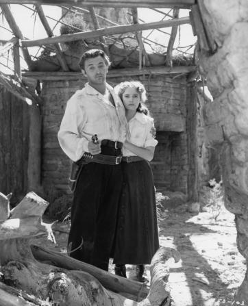 Robert Mitchum, Teresa Wright