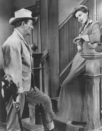 John Wayne, Angie Dickinson