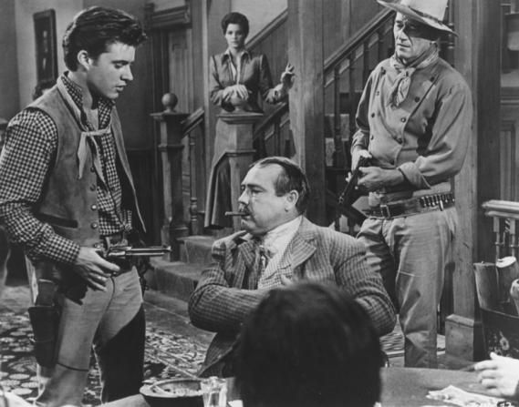 Rick Nelson, John Wayne