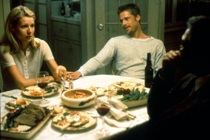 Gwyneth Paltrow, Brad Pitt, Morgan Freeman