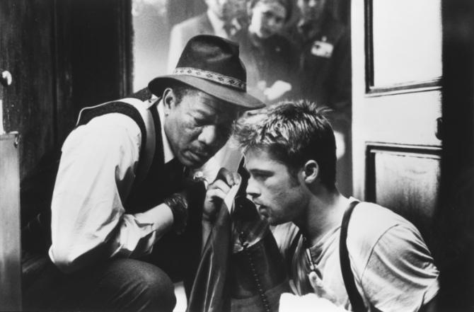 Morgan Freeman, Brad Pitt
