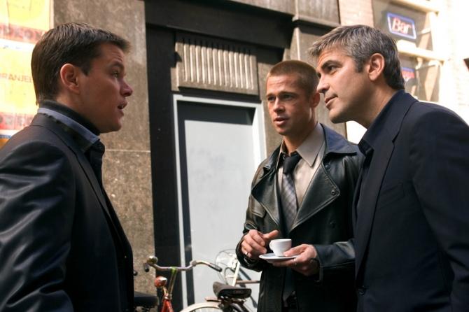 Matt Damon, Brad Pitt, George Clooney