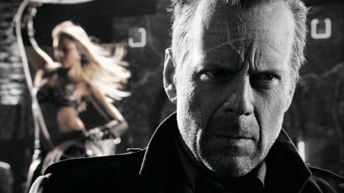 Jessica Alba, Bruce Willis