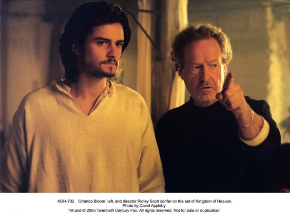 Orlando Bloom, Ridley Scott