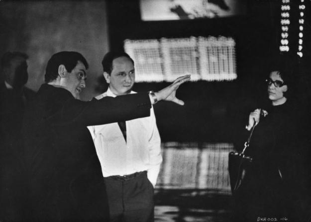 Stanley Kubrick, Kelvin Pike, Christiane Kubrick