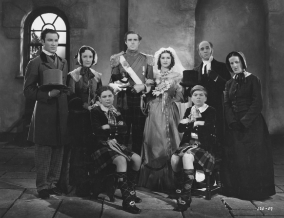Bruce Seton, Ethel Glendinning, Patric Knowles, Barbara Greene, Alastair Sim