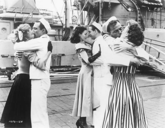 Vera-Ellen, Gene Kelly, Ann Miller, Frank Sinatra