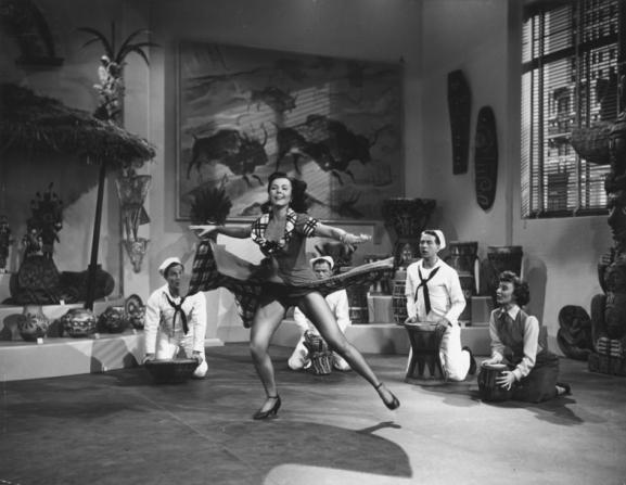 Gene Kelly, Ann Miller, Frank Sinatra