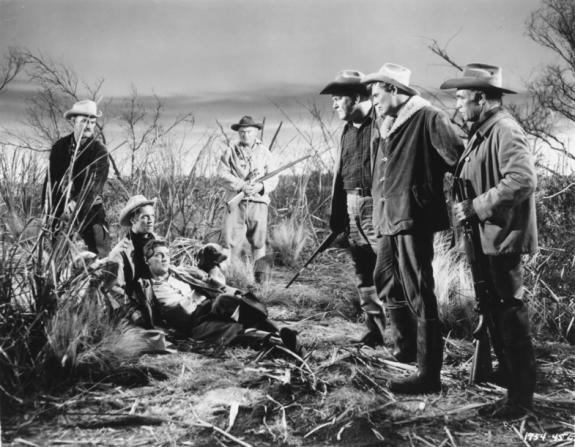 George Peppard, Robert Mitchum