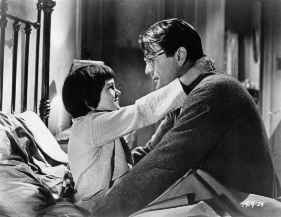 Mary Badham, Gregory Peck