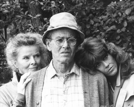 Katharine Hepburn, Henry Fonda, Jane Fonda