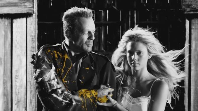 Bruce Willis, Jessica Alba